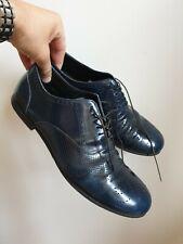 Giorgio Armani leather mens shoes 👞 Size 42/8 UK. VGC. Blue colour