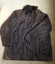 Men's BARBOUR 'Beaufort' Wax/Sylkoil Jacket/Coat - Size XL