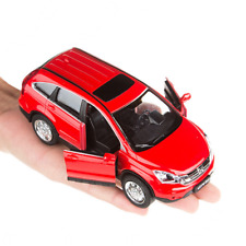 Collection 1:32 HONDA CRV  Alloy Diecast Car Model Toy For Kid Sound&Light Red