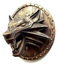Fenrir Viking Norse Wolf Bronze Sculpture Figure Home Wall Mount Art Decor XL