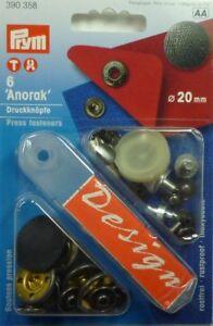 Prym 6 Design Stitch-Free-Press Antiqued Silver 0 25/32in 390358