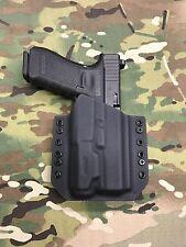Black Kydex Light Bearing Holster for Glock 17 22 31 Inforce APL