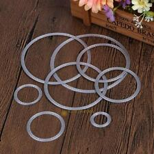 Circle Metal Cutting Dies Stencils Embossing Card Scrapbooking Album Craft Tool