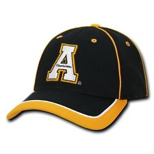NCAA Appalachian State University 6 Panel Structured Piped Baseball Caps Hats