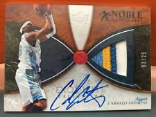 2006-07 Upper Deck Exquisite Carmelo Anthony Noble Nameplates Auto Patch # 25