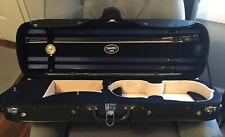 Tonareli USA Deluxe Violin Case...Great Condition  W/ Coda Bow Prodigy & Strings