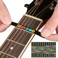Guitar Scale Name Stickers Electric Guitar Beginner Guitar Q5Y4 Accessories Y7O4
