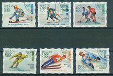 Laos 661 - 666  , o , Olympische Spiele 1984
