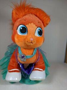 "Build A Bear Palace Pets Disney Princess Ariel Kitty Cat Poppy Treasure 15"""
