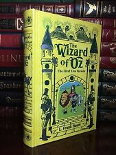 The Wizard of Oz by L.F. Baum New Illustrated Leather Bound Collectible 1st Five