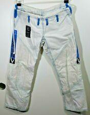 Tatami Fightwear Zero G VIII BJJ Gi Pants - F2 - White Blue Jiu-Jitsuka
