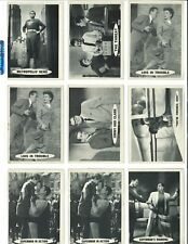 Lot of 24 Mostly Diff Vintage 1966 Topps Superman Trading Cards