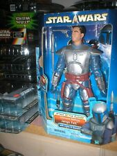 STAR WARS ATOC ELECTRONIC BATTLING JANGO FETT, LIGHTS & SOUNDS, UNOPENED