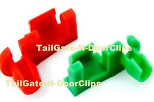 TAILGATE CLIPS GMC & CHEVY TAILGATE HANDLE ROD RETAINER CLIPS 1999 TO 2009 OEM-4