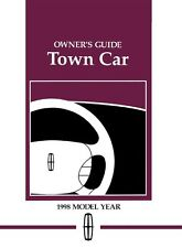 1998 Lincoln Town Car Owners Manual User Guide