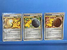 Pokemon card Pikachu Winner Promo Gold Silver Bronze Victory Medal Japanese Rare