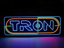 "New Tron Movie Fiction Man Cave Beer Pub Bar Store Neon sign 17""×10"" Q120S"