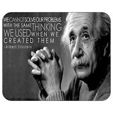Albert Einstein Quote Mousepad Mouse Pad Mat