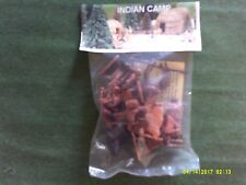 BARZSO INDIANS IN CAMP LAST SET MOC.