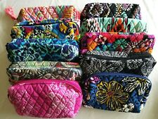 Vera Bradley Women's Medium Cosmetic - Choose Pattern -  Free Shipping
