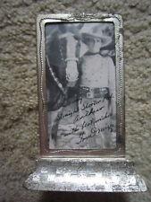 1936 Cowboy Star TOM MIX / Photo Signature (print)  in  CUSTOM FRAME / RARE /