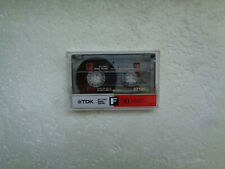 Vintage Audio Cassette TDK F 90 * Rare From 1988 * Unsealed