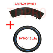 Front & Rear Tire Tube  90/100-16+70/100-19 for Kawasaki HONDA YAMAHA DIRT BIKE