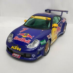 Porsche 911 GT3 R 24h Daytona 2000 Red Bull 1:18 Sun Star