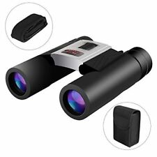 Austca Power View Compact Folding Roof Prism Binocular 10x32 Day/Night Outdoor