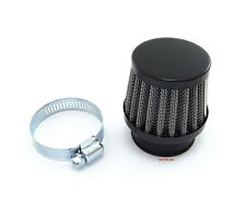 Small Black 35mm Motorcycle Air Filter Pod - Honda Vintage CB350F CB400F Four