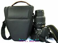 DSLR Camera Bag Case Black for Canon EOS 650D 60D 600D 7D 5D 550D 6D 1200D T6i