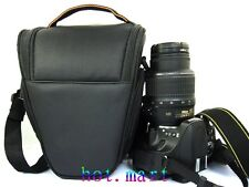 DSLR Camera Bag Case Black for Canon EOS 650D 60D 600D 7D 5D 550D Mark II III 6D