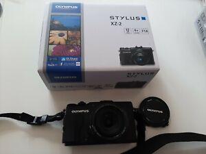 Olympus Stylus XZ-2 Compact Digital Camera . Pristine Condition.