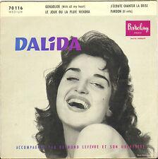 "DALIDA ""GONDOLIER"" 50'S EP BARCLAY 70 116"