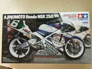 Tamiya Ajinomoto Honda NSR250 '90 1/12 Scale # 14110