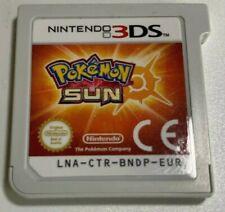 Pokemon Sonne Sun Modul Deutsch Sehr gut Nintendo 3DS 2DS