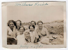 1931 WILBUR'S POINT Fairhaven Massachusetts REAL PHOTO Photograph SCONTICUT NECK