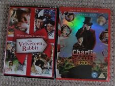 The Velveteen Rabbit (2009) DVD *Plus get Charlie and the Chocolate Factory FREE