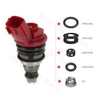 8 set For 1997-2001 INFINITI Q45 Fuel Injector Repair Seal Kit #166001P102