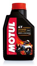 MOTUL 7100 4T 10W 40 OLIO MOTORE  MOTO 4 TEMPI 710 2T 10W-40 SINTETICO JASO PER