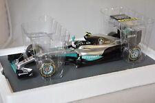 Spark 18S250 MERCEDES F1 W07 Hybrid n.6 2ème GP Abu Dhabi GP 2016 Rosberg 1/18