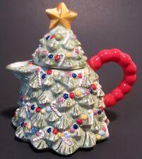 Christopher Radko Holiday Celebrations Christmas Tree Covered Creamer