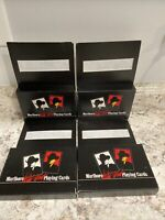 NEW 8 Decks Collectible Marlboro Wild West Playing Cards Sealed Vintage 1991