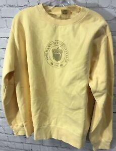 Women's Comfort Colors XL Golf Sweatshirt Hoodie Andover Country Club Yellow NEW