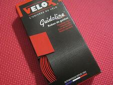 VELOX Guidoline Bike Cycle Maxi Cork Handlebar Tape RED 3mm Handle Bar Taping