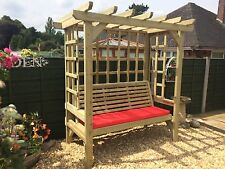 Garden Arbour Wooden Garden Arbour Garden Bench Trellis Garden Seat (TA103)