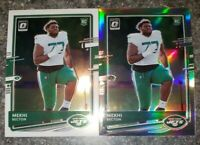 2020 Panini Optic Rookie RC Mekhi Becton New York Jets Silver Prizm Lot SP #120