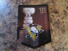 2012-13 Panini Molson Canadian Stanley Cup Collection 1991 PITTSBURGH PENGUINS