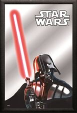 Star Wars Darth Vader Nostalgie Barspiegel Spiegel 22 x 32 cm *Angebot*