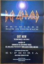Def Leppard  Promises  Original 1999 UK Promo Instore Display Poster